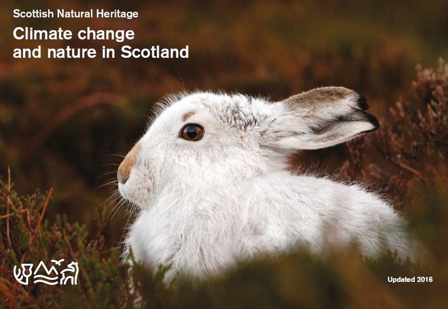 Climate change and nature in Scotland front cover