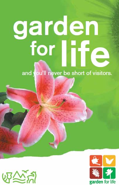Garden for life front cover