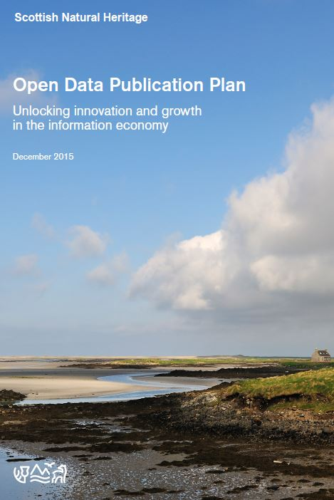 Open Data Publication Plan front cover