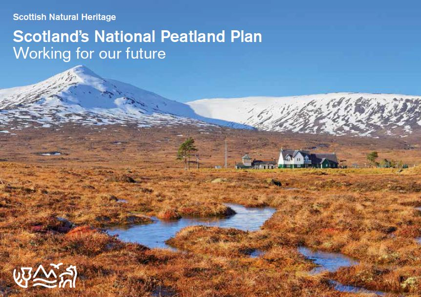 Scotland's National Peatland Plan front cover