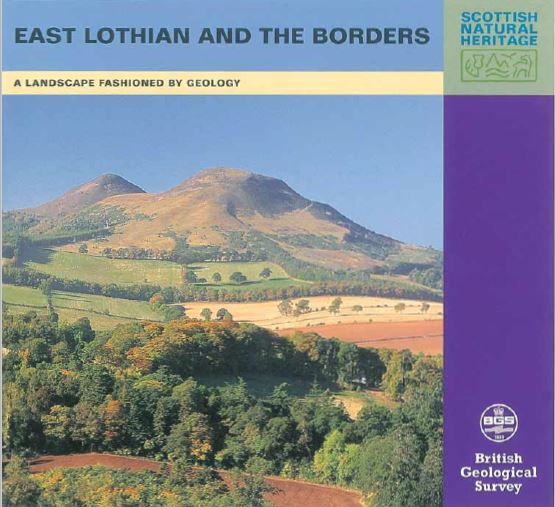 Landscape fashioned by geology - East Lothian and the Borders front cover