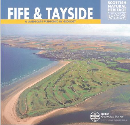 Landscape fashioned by geology - Fife and Tayside front cover