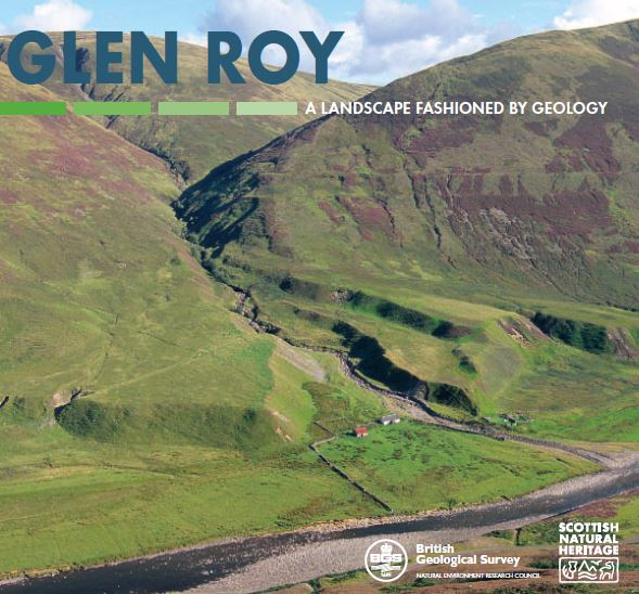 Landscape fashioned by geology - Parallel Roads of Glen Roy front cover
