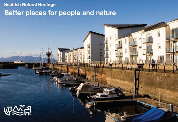 Better places for people and nature front cover