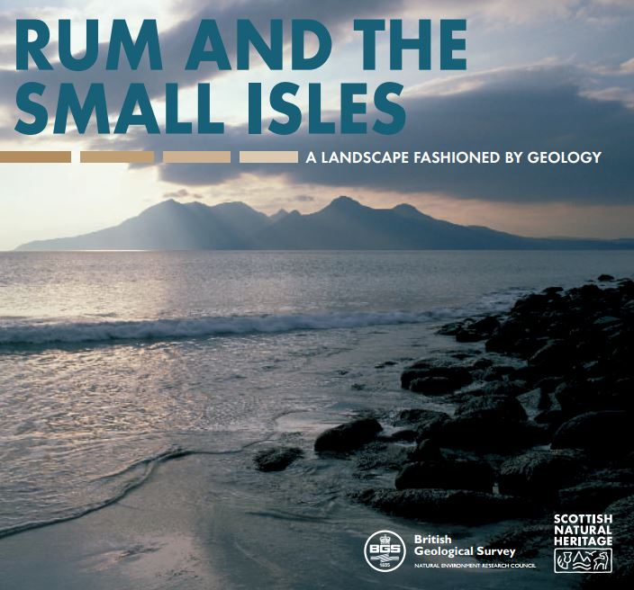 Landscape fashioned by geology - Rum and the Small Isles front cover