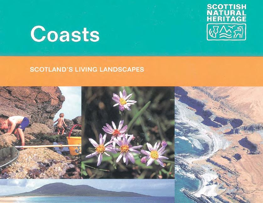 Scotland's Living Landscapes - Coasts front cover