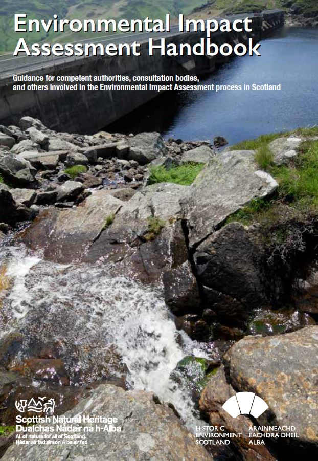 Environmental impact assessment handbook front cover