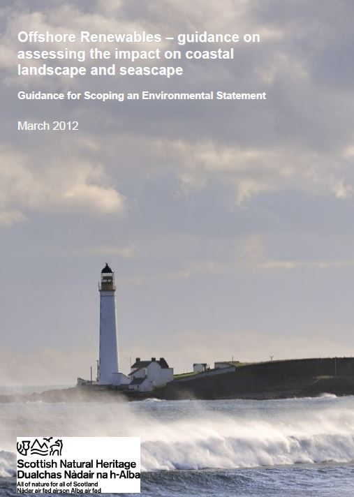 Offshore renewables front cover