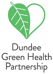 Dundee green health Partnership logo