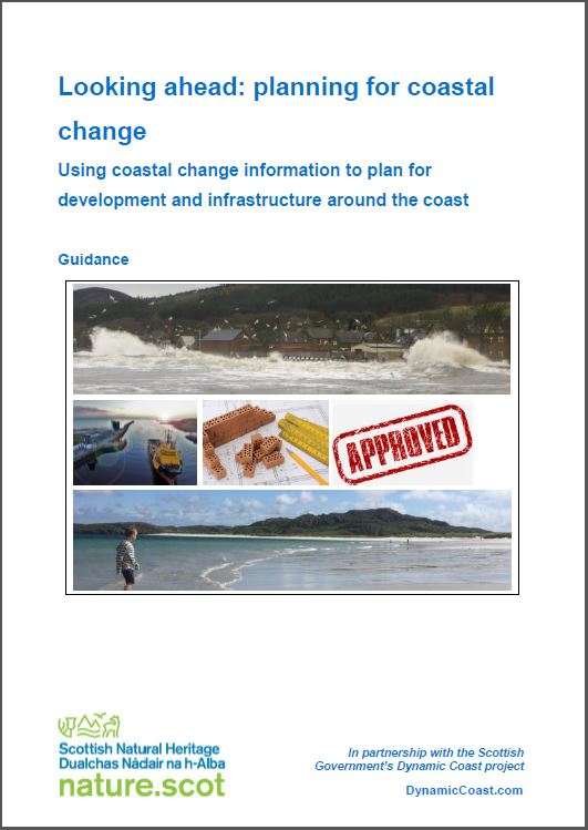 coastal change report - front cover