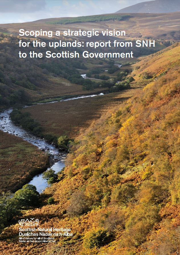 Report from SNH to the Scottish Government front cover