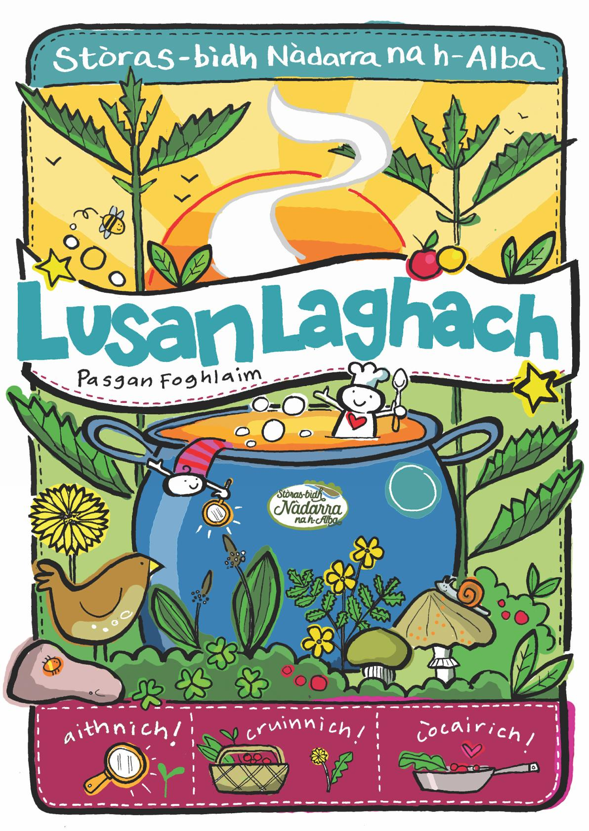 Lusan laghach - plant IDs - front cover