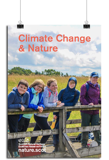 Climate change & nature front cover