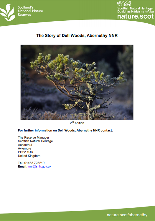 Abernethy NNR Front Cover