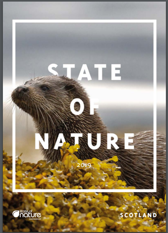 State of Nature Scotland Report 2019 front cover