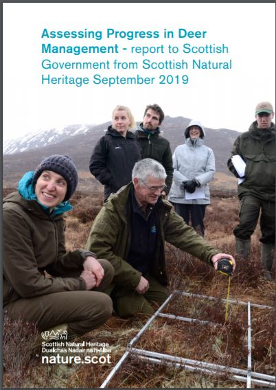 Assessing Progress in Deer Management - SNH report to Scottish Government