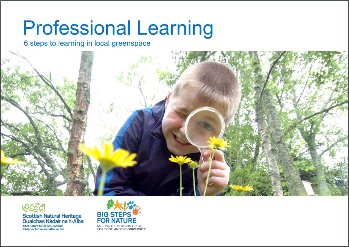 Professional Learning - front cover