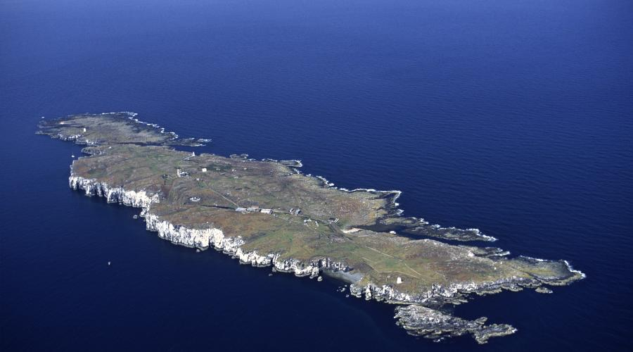 Aerial view of the Isle of May NNR. ©P&A Macdonald/SNH. For information on reproduction rights contact the Scottish Natural Heritage Image Library on Tel. 01738 444177 or www.nature.scot
