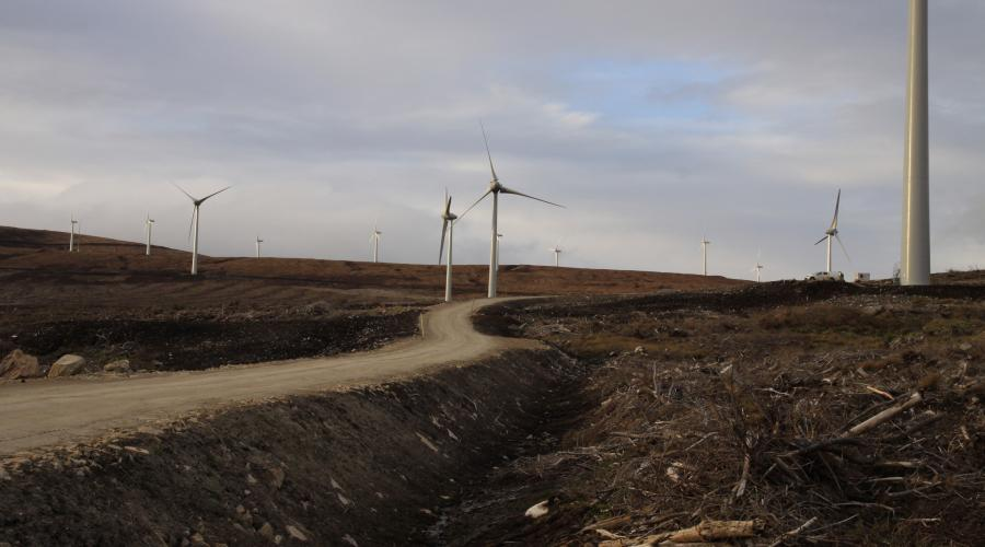 Wind farm construction: good practice | Scottish Natural Heritage