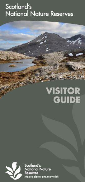 Scotland's National Nature Reserves Visitor guide 2016 front cover