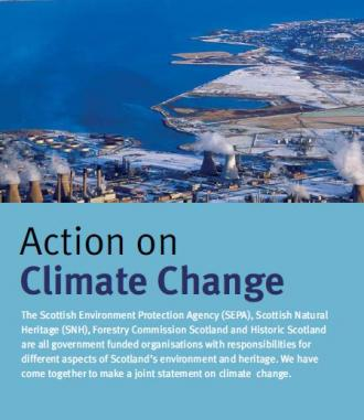 Action on Climate Change front cover