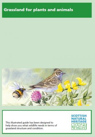 Grassland for Plants and Animals front cover