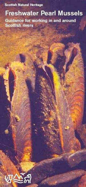 Freshwater Pearl Mussels - Guidance for working in and around Scottish rivers front cover