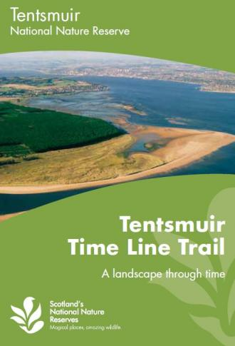 Tentsmuir Time Line Trail - A landscape through time front cover