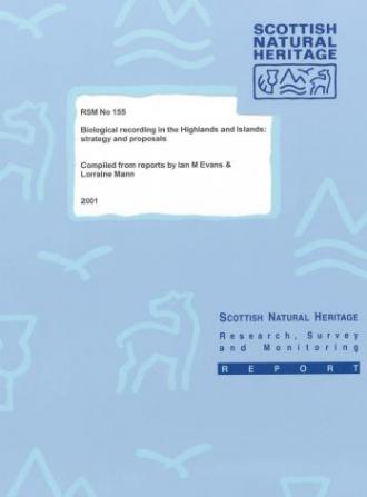SNH Research, Survey and Monitoring Report 155 front cover