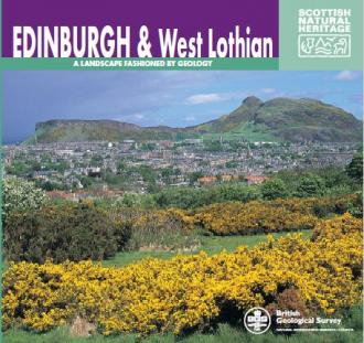 Landscape fashioned by geology - Edinburgh and West Lothian front cover