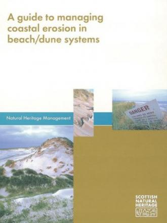 Beach Dunes - a guide to managing coastal erosion in beach dune systems front cover