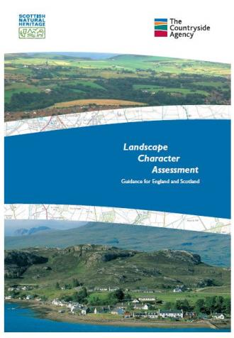 Landscape Character Assessment guidance for England and Scotland front cover