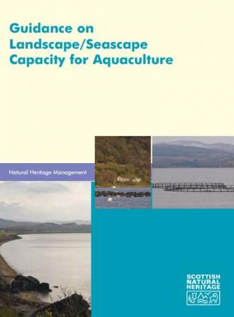 Guidance on Landscape/Seascape Capacity for Aquaculture front cover