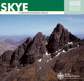 Landscape fashioned by geology - Skye front cover