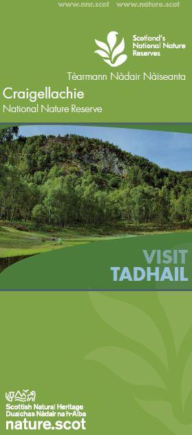 Visit Craigellachie NNR front cover