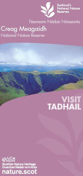 Visit Creag Meagaidh National Nature Reserve front cover