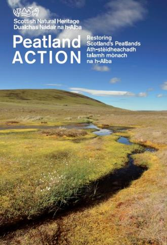 Peatland ACTION Restoring Scotland's peatlands front cover