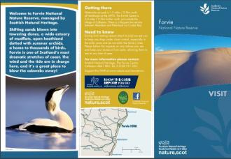 Visit Forvie National Nature Reserve front cover