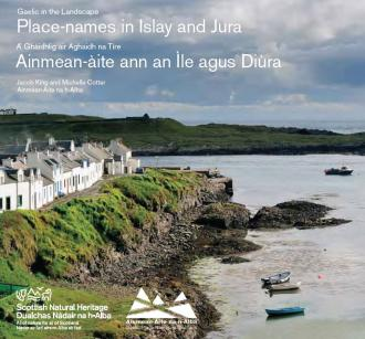 Gaelic in the landscape - Place names on Islay and Jura front cover