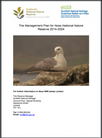 Noss NNR front cover