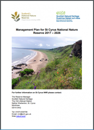 St Cyrus NNR front cover