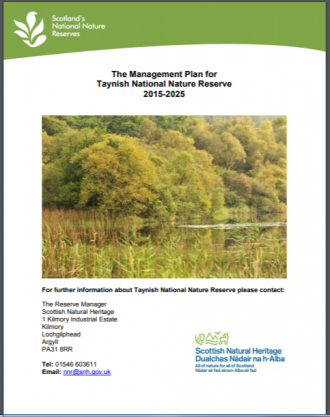 Taynish NNR front cover