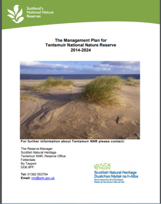 Tentsmuir NNR front cover