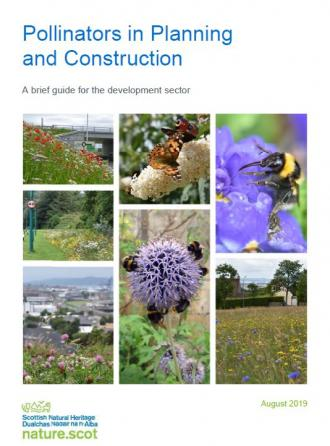 Front cover of Pollinators in Planning and Construction Guide