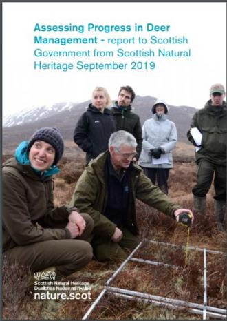 Assessing Progress in Deer Management - report to Scottish Government front cover
