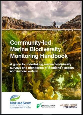 Community-led marine biodiversity front cover