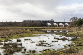 Image of Garnock floods and the railway