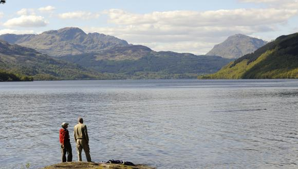 Loch Lomond National Park. ©Lorne Gill/SNH. For information on reproduction rights contact the Scottish Natural Heritage Image Library on Tel. 01738 444177 or www.nature.scot