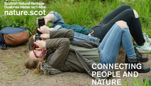 Corporate Plan 2018 - 2022 - Connecting People and Nature - Front Cover. ©Lorne Gill/SNH. For information on reproduction rights contact the Scottish Natural Heritage Image Library on Tel. 01738 444177 or www.nature.scot